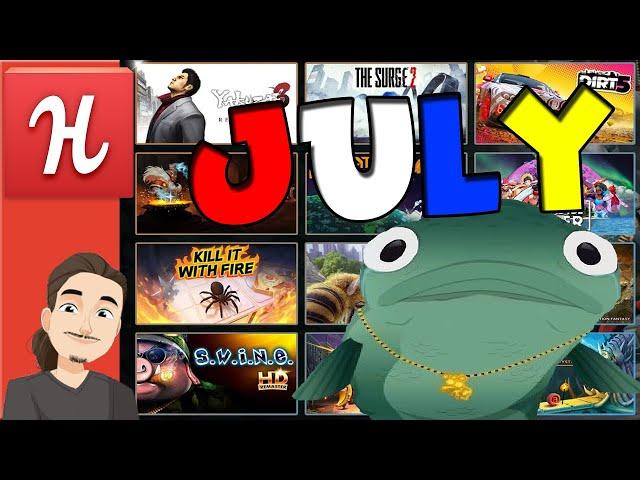 Humble Choice July + More Steam Game Bundle Stuff