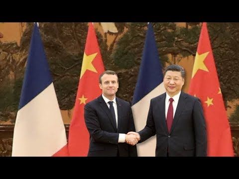 Macron's first trip to China as French President