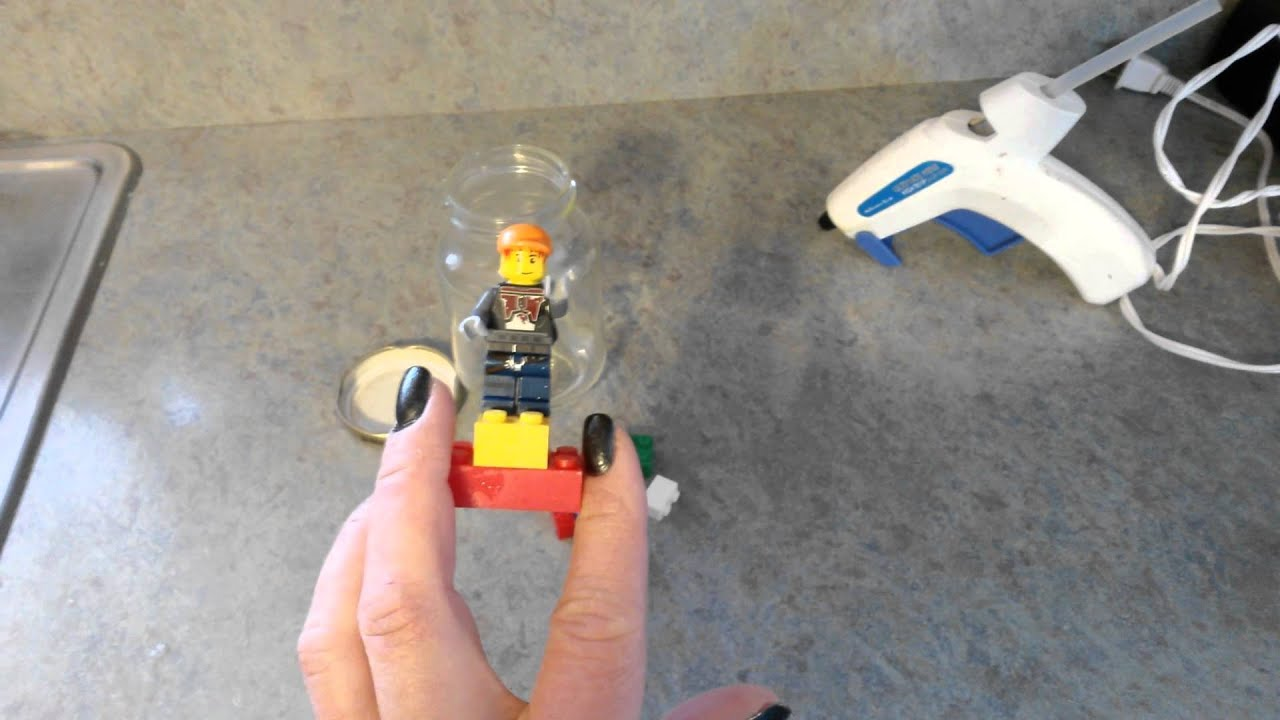 Easy diy lego snow globes part 1 crafts with kids youtube for Diy lego crafts