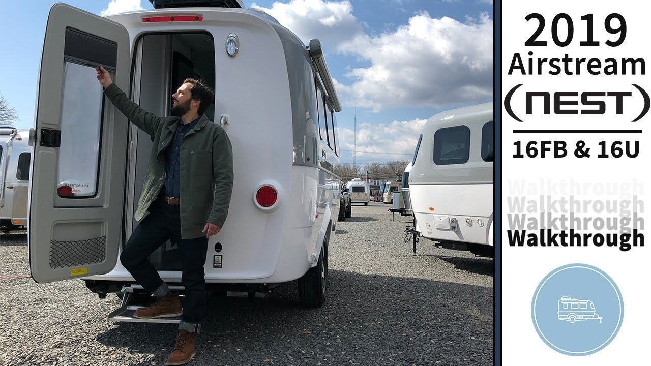 Airstream Nest for Sale | Airstream Travel Trailer | Small