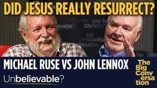 Did Jesus really resurrect? John Lennox clashes with atheist Michael Ruse
