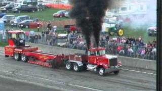 USA EAST Big Rigs Pulling Series, Crawford County Fair.  Meadville, PA