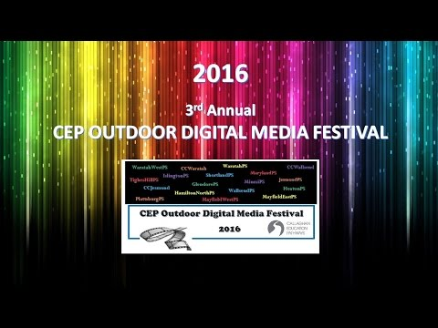 CEP Outdoor Digital Media Festival 2016