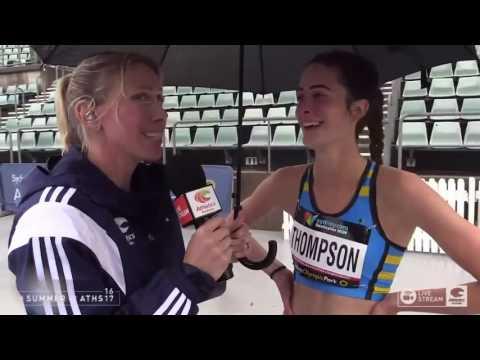 Andrea Thompson   2017 Australian Athletics Championships