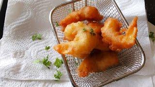 Gambar cover Golden Fried Prawns Recipe - Prawn Fry Recipe - झींगा फ्राई रेसिपी - جھینگا فریڈ