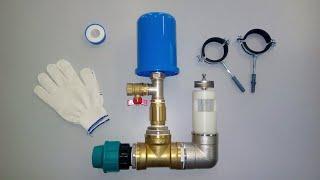 Гидротаран - энергонезависимый водяной насос Hydrotrans - non-volatile water pump