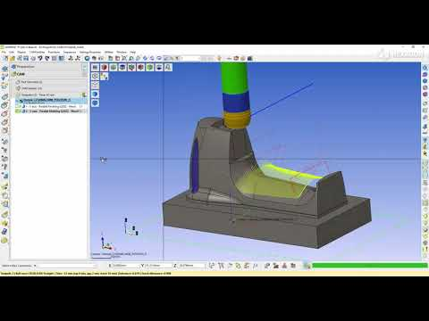 5-Axis parallel finishing - 3 | WORKNC 2022