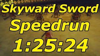 Zelda: Skyward Sword Any% Speedrun in 1:25:24[World Record]