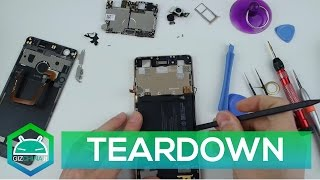 TEARDOWN - Nubia Z11 Black Gold | How to disassembly!
