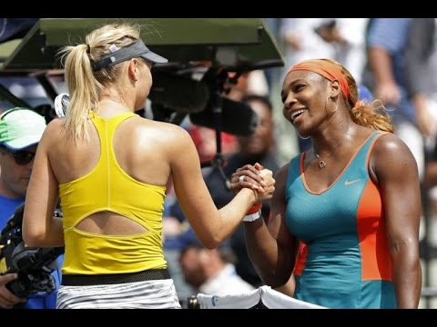 Serena Williams VS Maria Sharapova Highlight 2014 SF