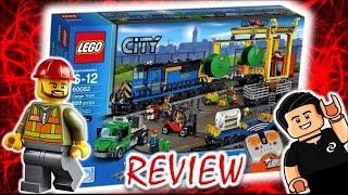 Lego ESPECTACULAR Tren de Mercancias a Control Remoto Lego City Review thumbnail
