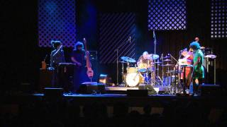 Duo Fredy Studer drums, John Edwards double bass