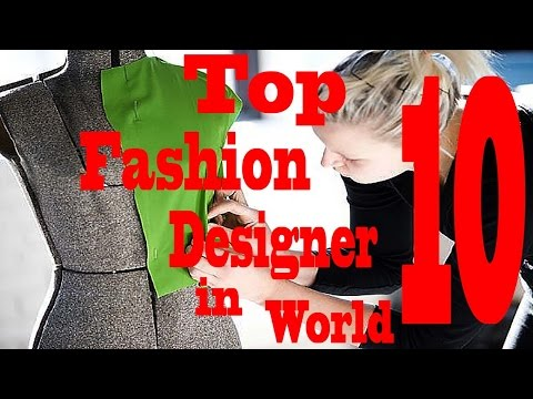 Top 10 Richest Fashion Designers In The World Top Fashion Designer Youtube