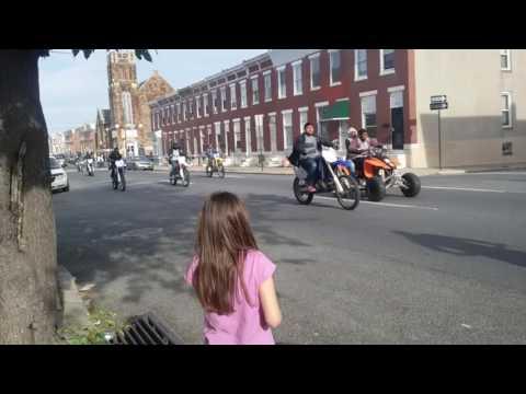 Baltimore City dirt bikes