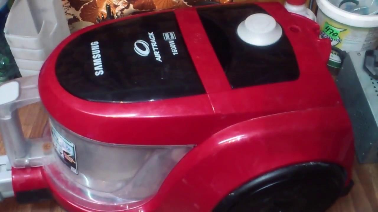 Ремонт пылесоса Samsung AirTrack. Сгорел якорь. Замена двигателя.