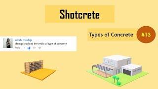 What is Shotcrete? || Gunite || Sprayed Concrete || Types of Concrete #13