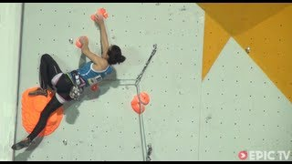 Natalie Berry Reports on the 2013 European Lead Climbing Championships