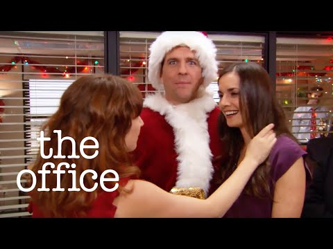 Bumping into an Ex at the Christmas Party  The Office US