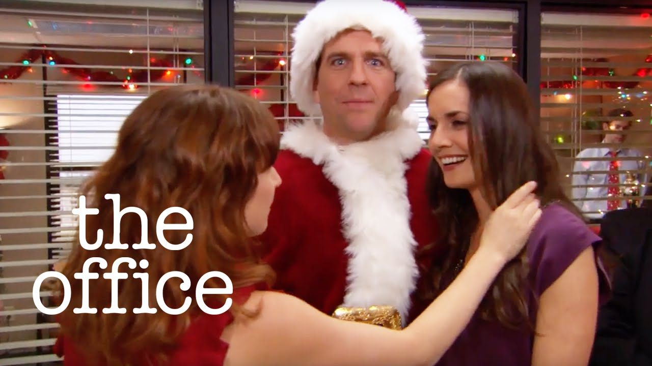 bumping into an ex at the christmas party the office us - The Office Christmas