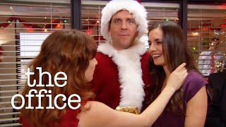 Bumping into an Ex at the Christmas Party - The Office US