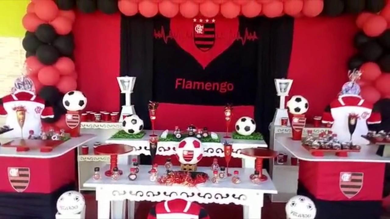 Festa De 15 Anos Simples: DECORAÇÃO DE FESTA FLAMENGO