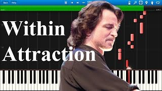 [EXCLUSIVE] Yanni - Within Attraction | Synthesia EASY ٍSolo Tutorial
