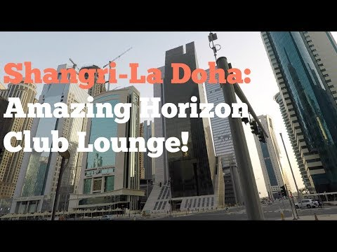 Shangri-La Hotel, Doha: This Horizon Club Lounge Is Huge!