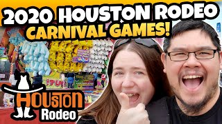 Dragon Claw Games Back for MORE 2020 Houston Rodeo Carnival Games! DCG