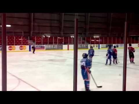 Semi Pro Hockey Team in 2015 CCHA Toronto Invitational Tournament 2002 Spring game