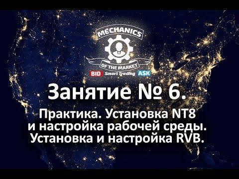 Занятие № 6. Установка NT8. Получение котировок. Установка и настройка RVB.