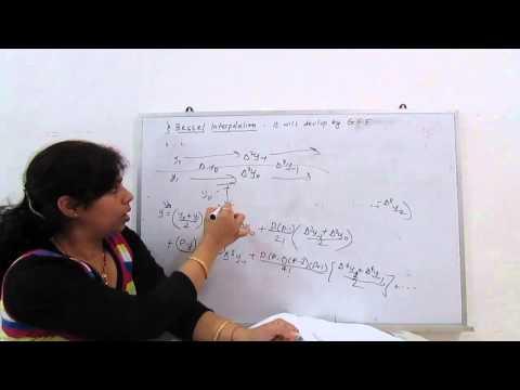 Interpolation (Bessel formula) - part6