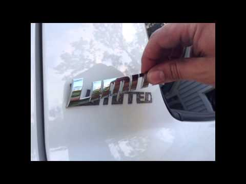 Toyota Tundra - Badge & Pin Stripe Removal