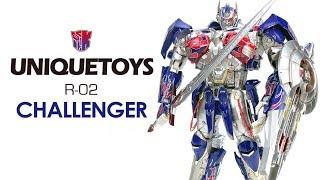 KL變形金剛玩具分享327 Unique Toys R-02 CHALLENGER 騎士柯博文