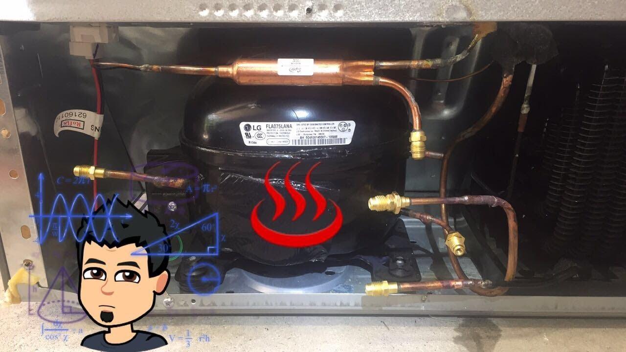 hight resolution of lg compressor install