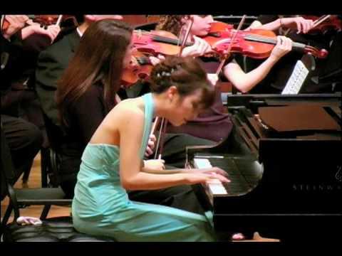 LSU Orchestra - 50th Annual Concerto, Mozart, Piano Concerto in A Major, K 488, Allegro Assai