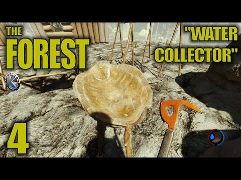 "The Forest Gameplay / Let's Play (S-3) -Ep. 4- ""Water Collector"""