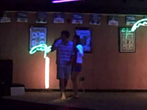 Matt and Linsday Karaoke