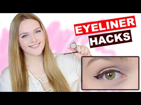 eyeliner hacks tipps tricks f r den perfekten strich tutorial f r anf nger deutsch. Black Bedroom Furniture Sets. Home Design Ideas