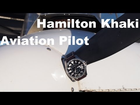 Hamilton Khaki Aviation Pilot Review - IN A PLANE!!!