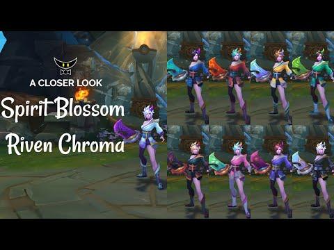 Spirit Blossom Riven Chromas