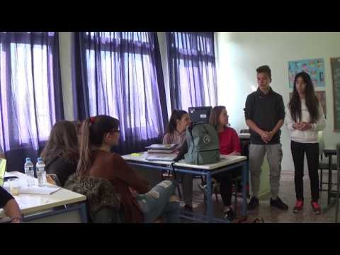 The presentations of the students' business plans 1