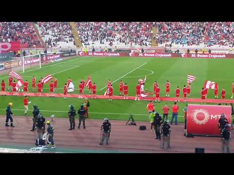 Crvena Zvezda - Voždovac, 19.05.2018 - proslava 29. titule