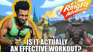 Is Nintendo's Ring Fit Adventure An Effective Workout?