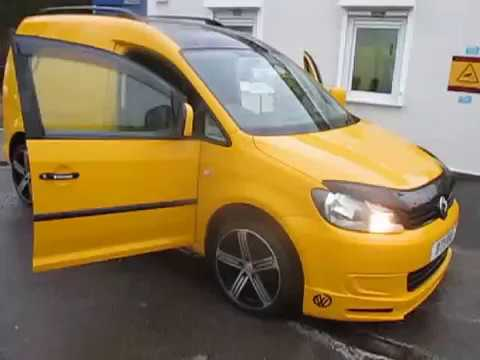2011 11 volkswagen caddy sportline look 1 6 tdi premier. Black Bedroom Furniture Sets. Home Design Ideas