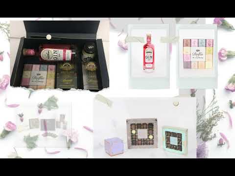Create Your Own Vegetarian Food Gift Hampers ♦ London UK Delivery ♦ Tea Chocolate Honey Bespoke Box