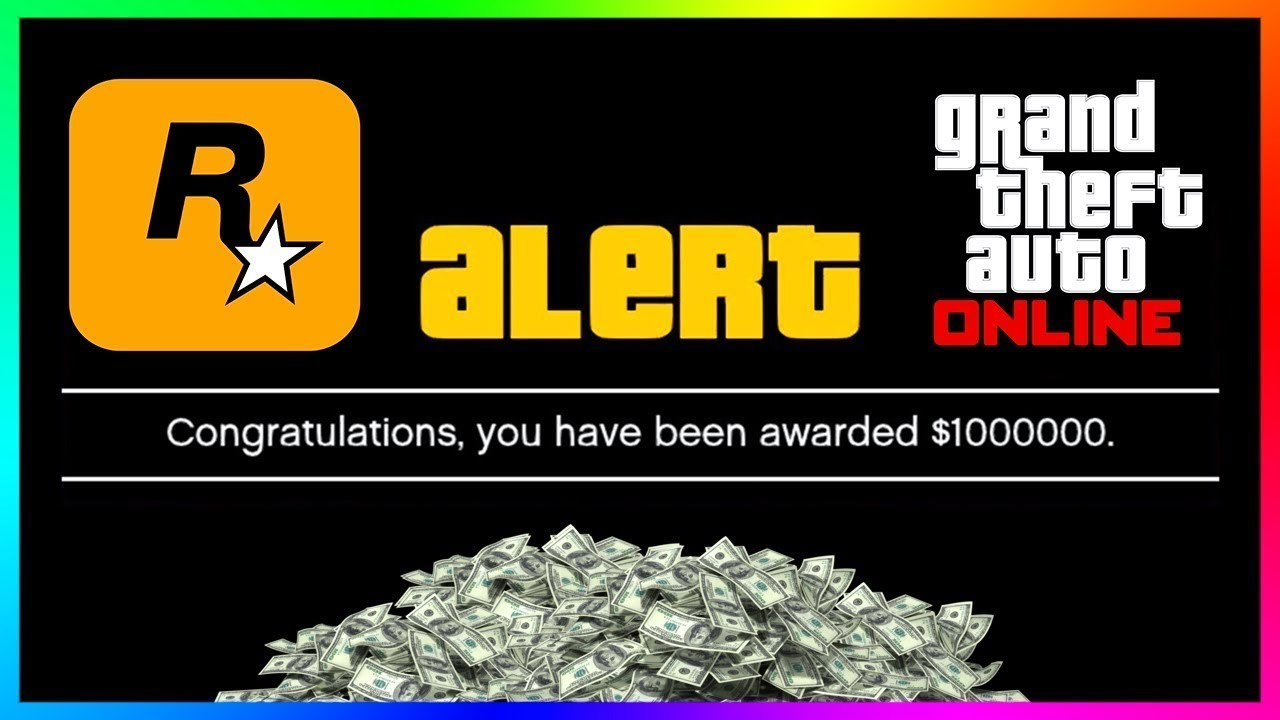 Rockstar Is Giving Away FREE Money To ALL Players In GTA 5 Online For Doing This ONE Simple Thing!