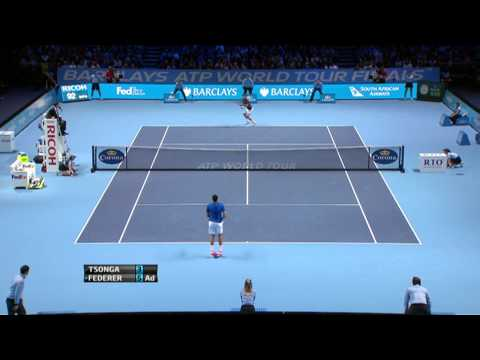 Federer, Nestor/Mirnyi Win Barclays ATP World Tour Finals