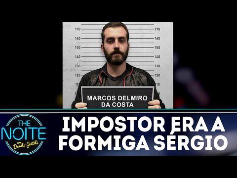 Monólogo: Impostor se passava por formiga Sérgio | The Noite (16/07/18)