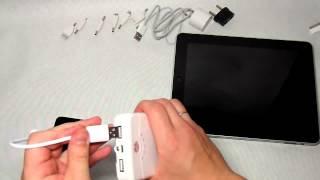 Видеообзор Yoobao YB 642 - дополнительный портативный аккумулятор(, 2014-05-11T17:33:55.000Z)