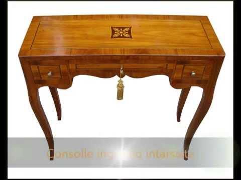 Mobili in stile classico tavolino tavolini consolle for Console ingresso